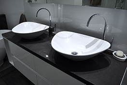 granite bathroom benchtops